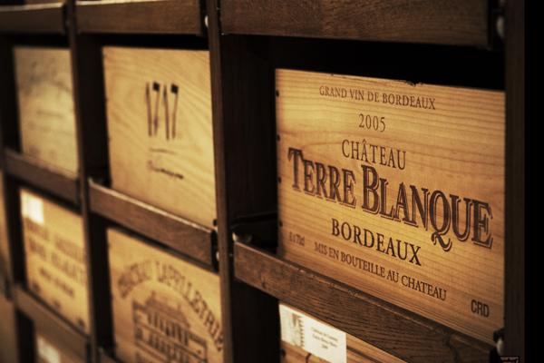 Caisses vins bois