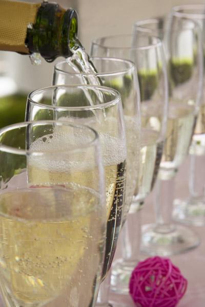 location flûtes champagne