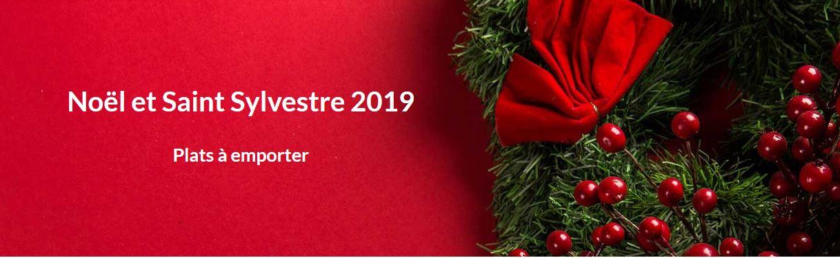 Noël et Saint Sylvestre 2019 - Plats à emporter